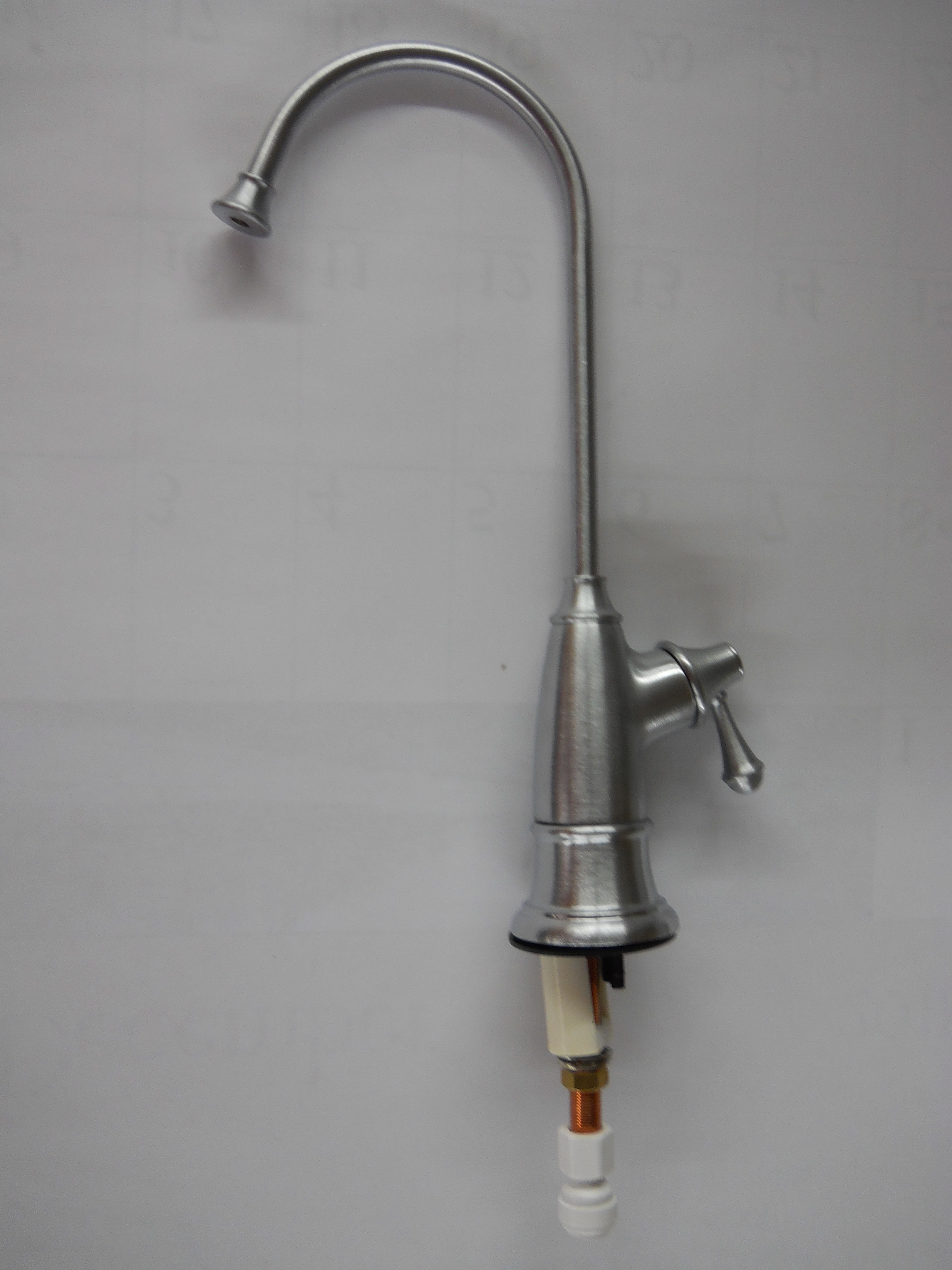 Faucet, Brushed Stainless Air Gap Designer Series Luxury