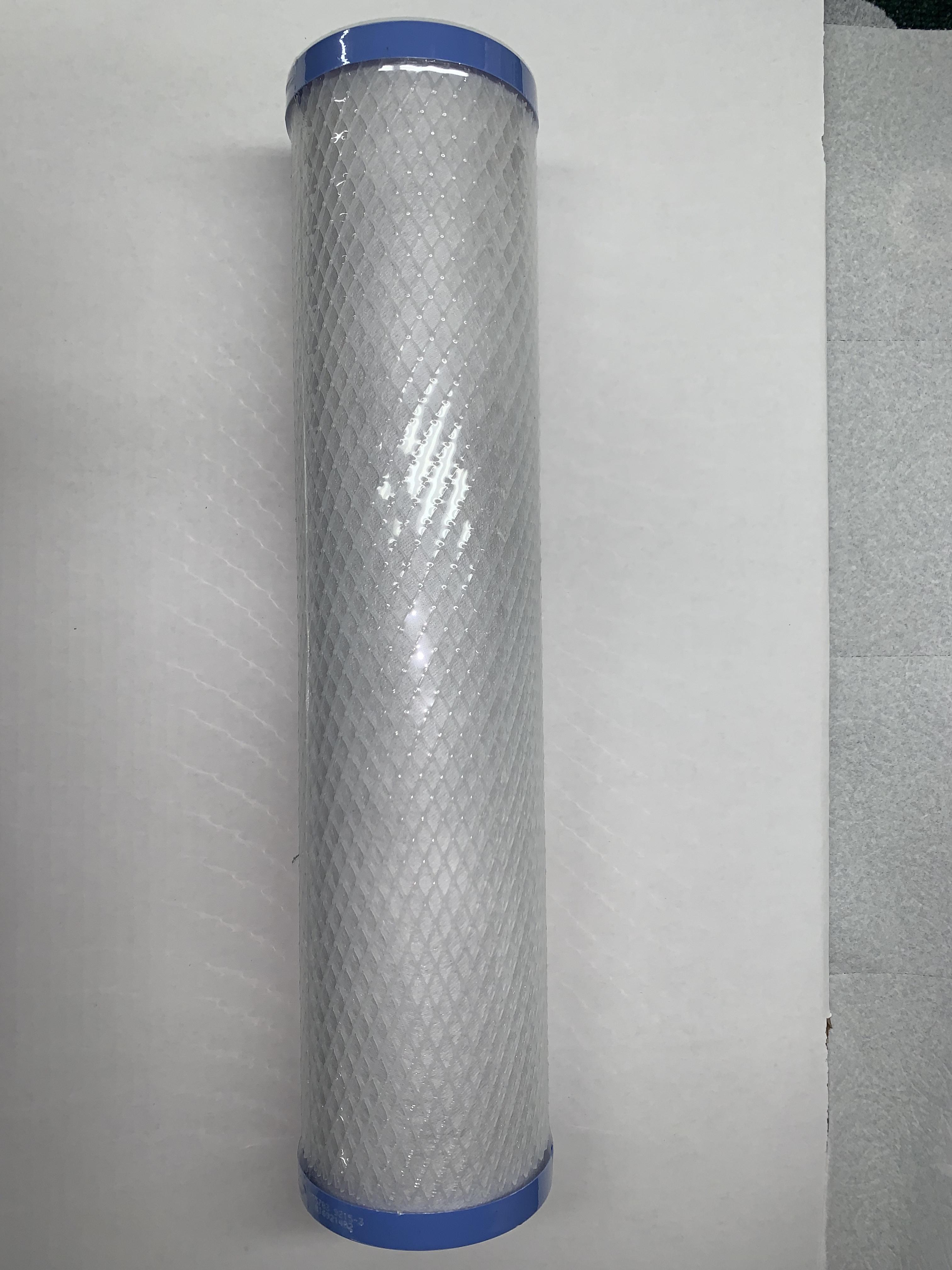 "Filter, Carbon Block EPM (Big Blue 20"") 10 Micron"