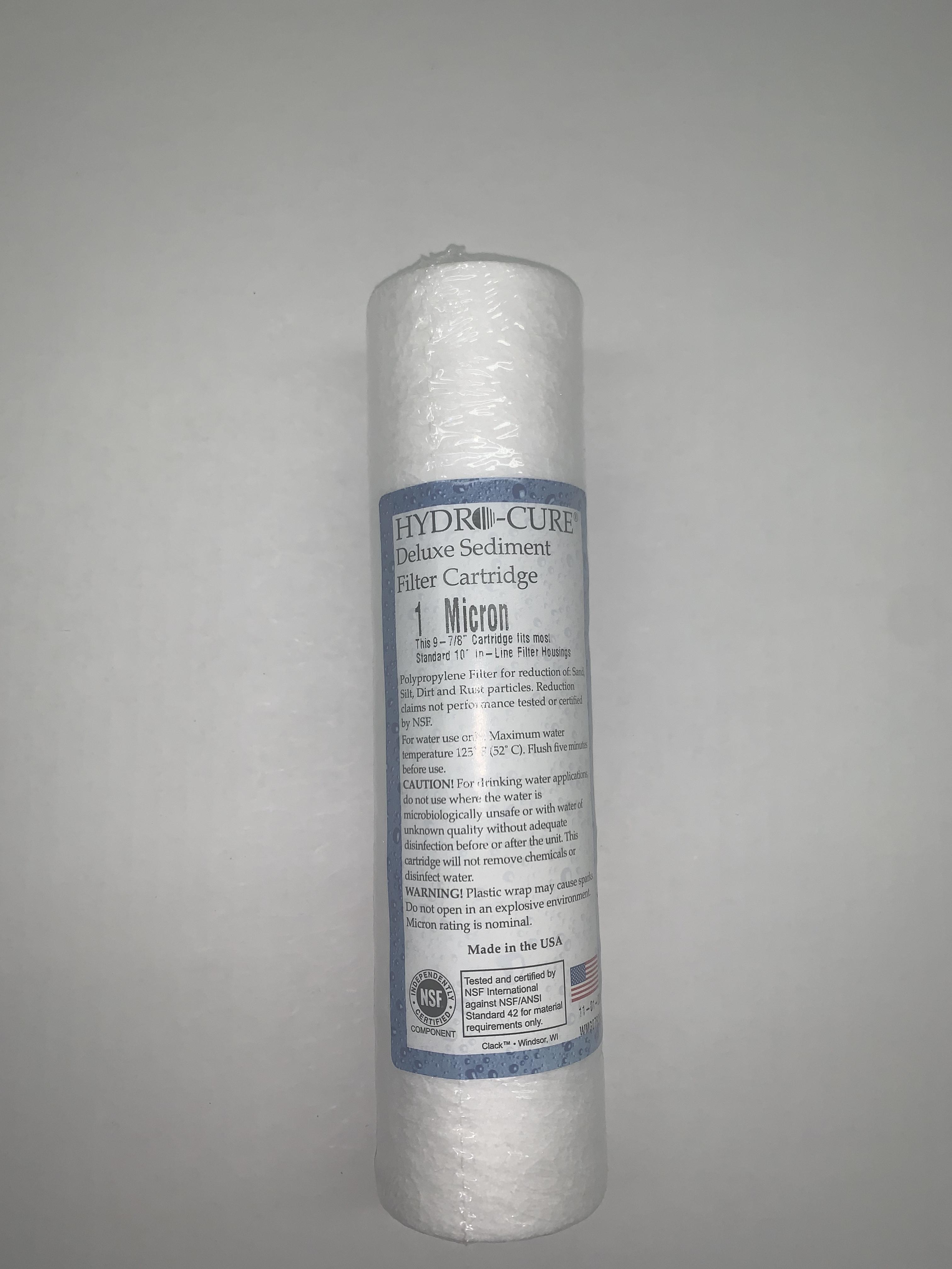 """Filter, Sediment ( 2.5"""" X 10"""" )  1 Micron"""