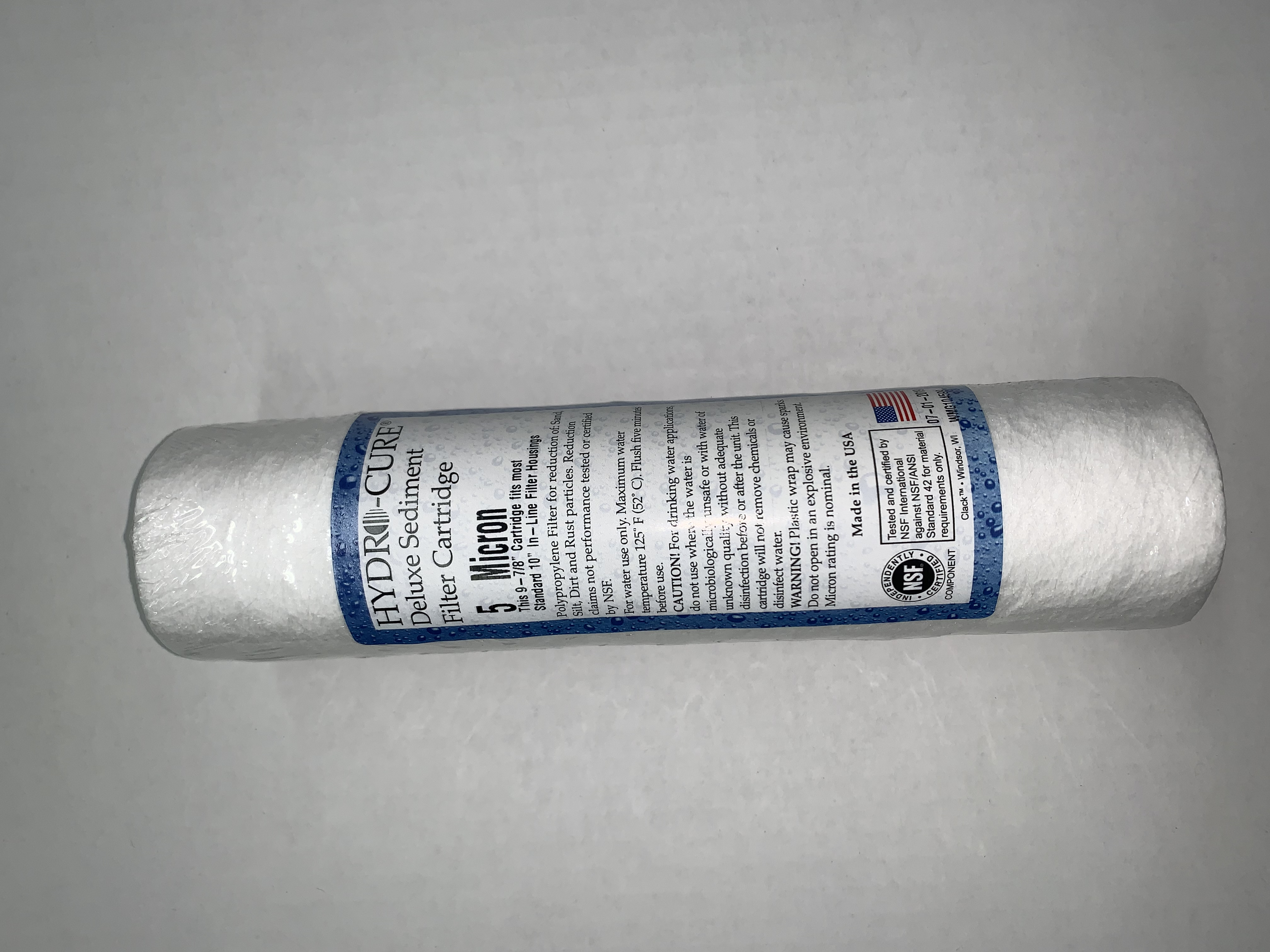 """Filter, Sediment ( 2.5"""" X 10"""" )   5 Micron"""